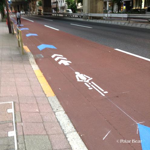 世田谷R246自転車ナビライン