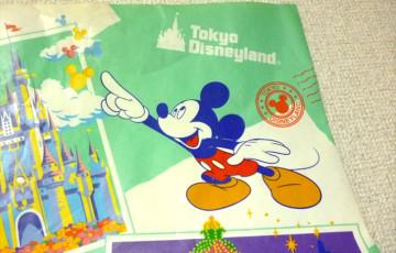 ディズニーランドの紙袋