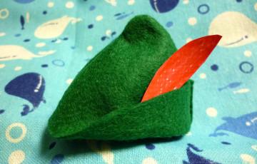ピーターパンの帽子