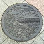 静岡県沼津市のマンホールの蓋