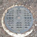 三鷹市 雨水管マンホールの蓋