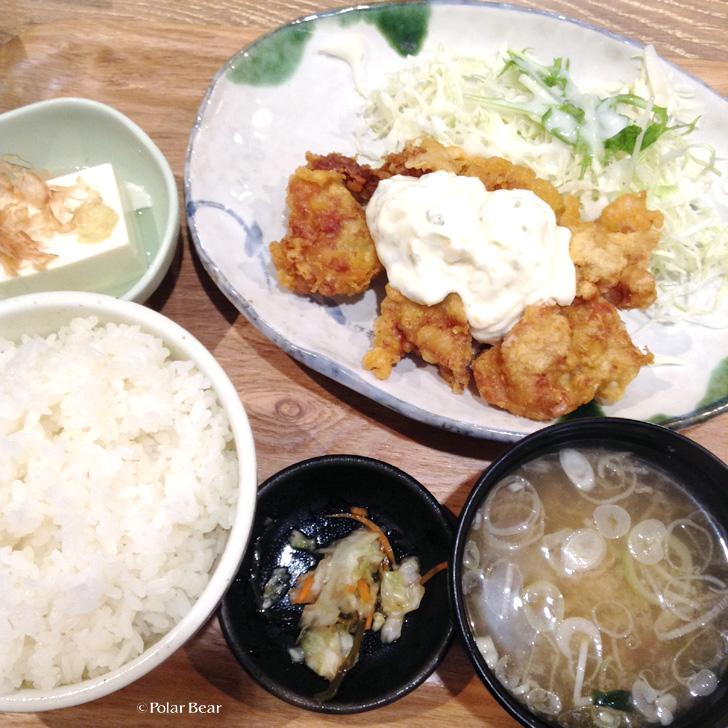 オリジンダイニング タルタルさくさくチキン南蛮定食